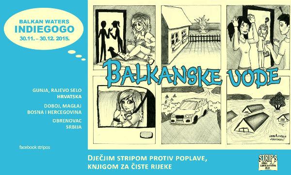 Balkanske vode plakat