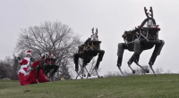 Boston Dynamics Santa prikaz