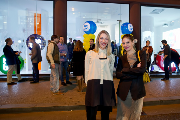 Mirta Vučić i Tea Tomić, dizajnerice trgovine.