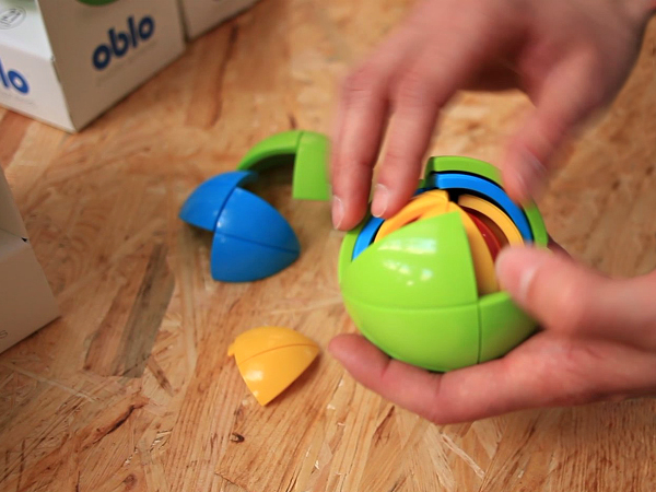 Didaktička igračka Oblo Spheres (Autor fotografije: Transmeet.Tv)