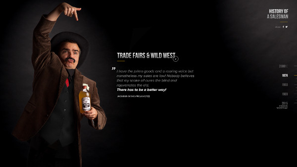 history salesman zapad