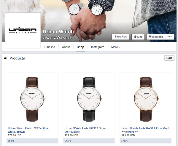 urban watch shop
