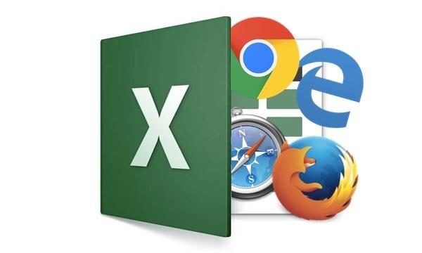 Excel u web aplikacije