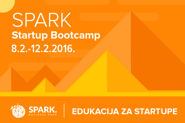 SPARK Startup Bootcamp plakat
