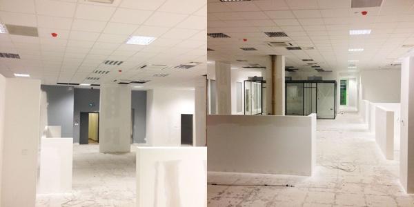 Gradnja u prostorima koji će činiti Hub385