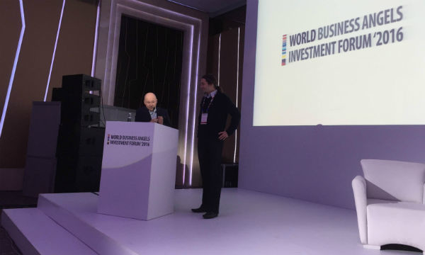 Davorin Štetner na World Business Angels Investment Forumu u Istanbulu