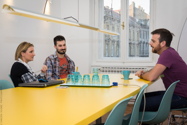 Jedna od aktivnosti koju HDNP organizira je savjetovalište u coworking prostoru BIZkoshnica (slika: Sandra Huškić)