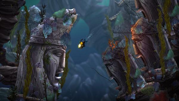 Song of the Deep nije prvi indie projekt razigranom Insomniac Gamesu. Uz poznate AAA naslove razvili su jednu indie (Slow Down, Bull) i četiri mobilne igre (Bad Dinos, Digit & Dash, Fruit Fusion, Outernauts)