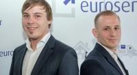 Tim Potočnik i Rok Jarc iz Eurosendera
