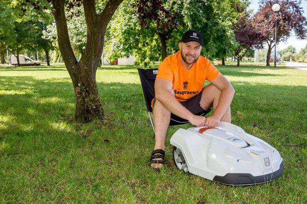 Zoran Stanko i Husqvarna robotska kosilica