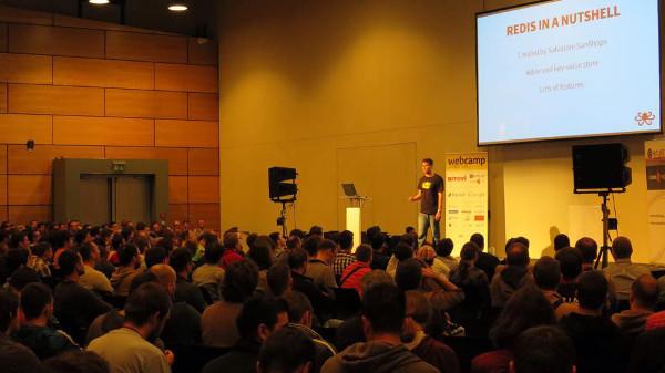 Predavanje na WebCampu u Zagrebu.