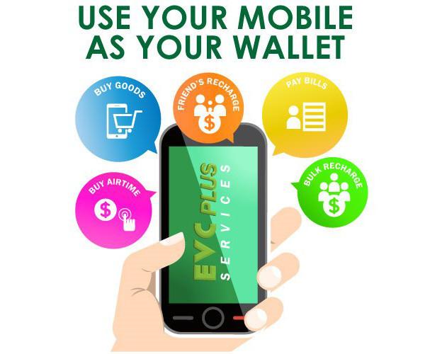 Reklama za EVC Plus uslugu mobilnog plaćanja koju nudi somalijska tvrtka Hormuud