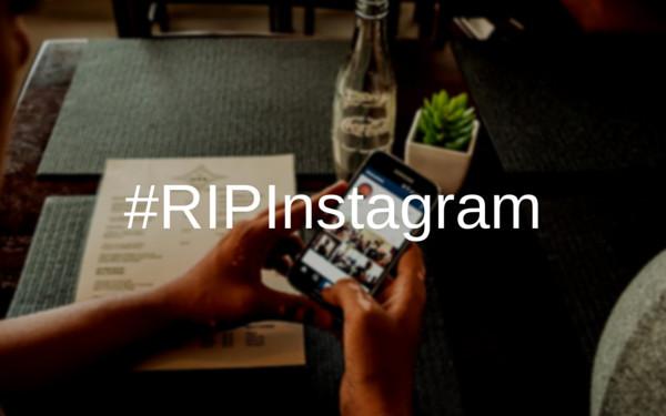 rip instagram