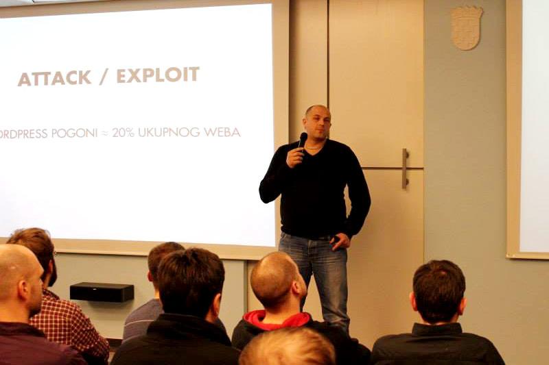 Goran Šerić je od samih početaka dio hrvatske WordPress zajednice te je već na prvom Meetupu (koji se u Hrvatskoj održao u Zagrebu) imao popularno i zanimljivo predavanje o WordPressu