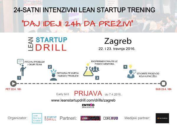 lean startup drill prijava