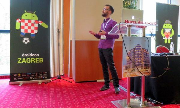Marin je na droidconu prošlog tjedna održao predavanje UX for All, UI for One… Platform.