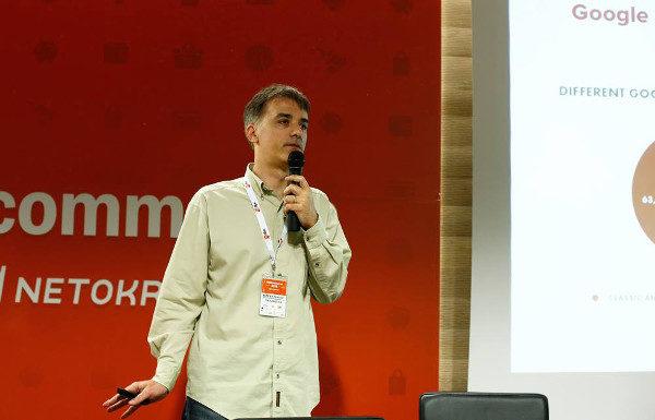 Robert Petković na prošlogodišnjem OMGcommerceu (slika: Luka Travaš)