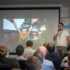 Vedran Vukman u Krakowu je predstavljao hardversku stranu projekta, dok je Mirza Muftić sa softverskom stranom upravo u programu Plug&Play u Silicijskoj dolini (slika: hub:raum Krakow)