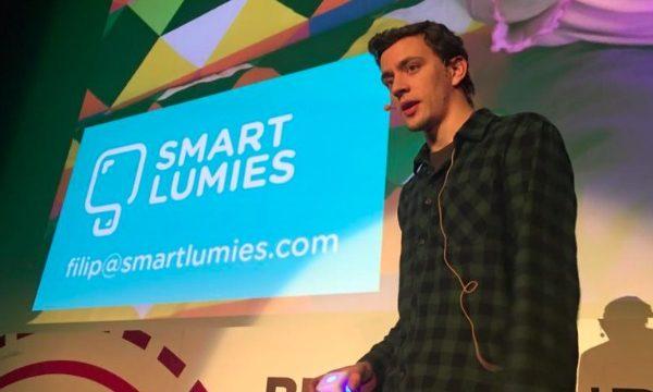 Filip je predstavljao Smart Lumies na ovogodišnjem Bug Future Showu.