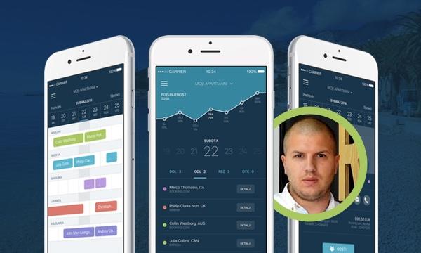 Rentl.io iphone aplikacija
