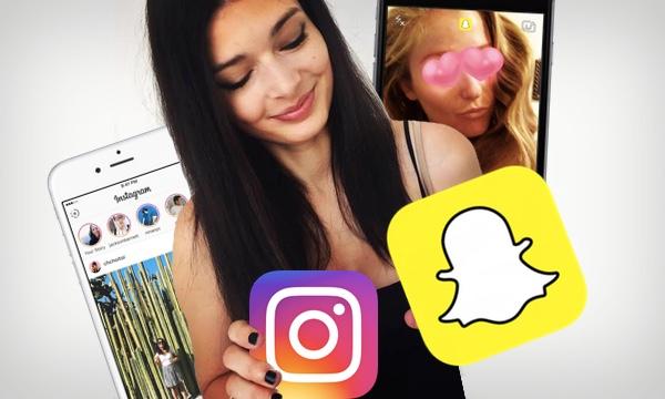 Snapchat protiv Instagrama
