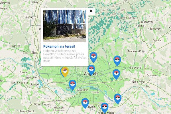 Koje su lokacije važne za Pokemajstore u Zagrebu?