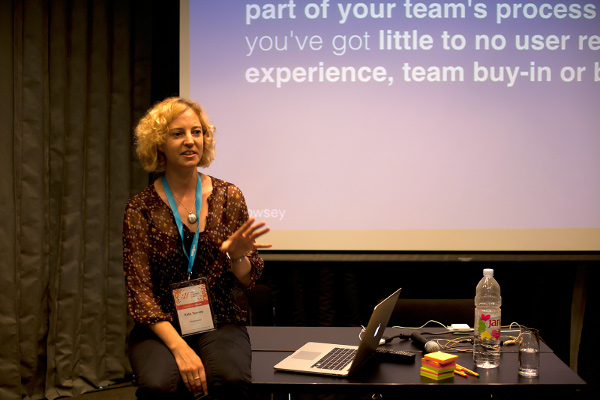 Kate Towsen radi kao content strategist, iako joj se dobar dio posla odnosi na testiranja.