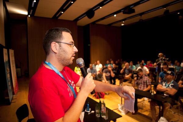 Netgenov Ivo Lukač na otvaranju ovogodišnjeg Web Summer Campa.