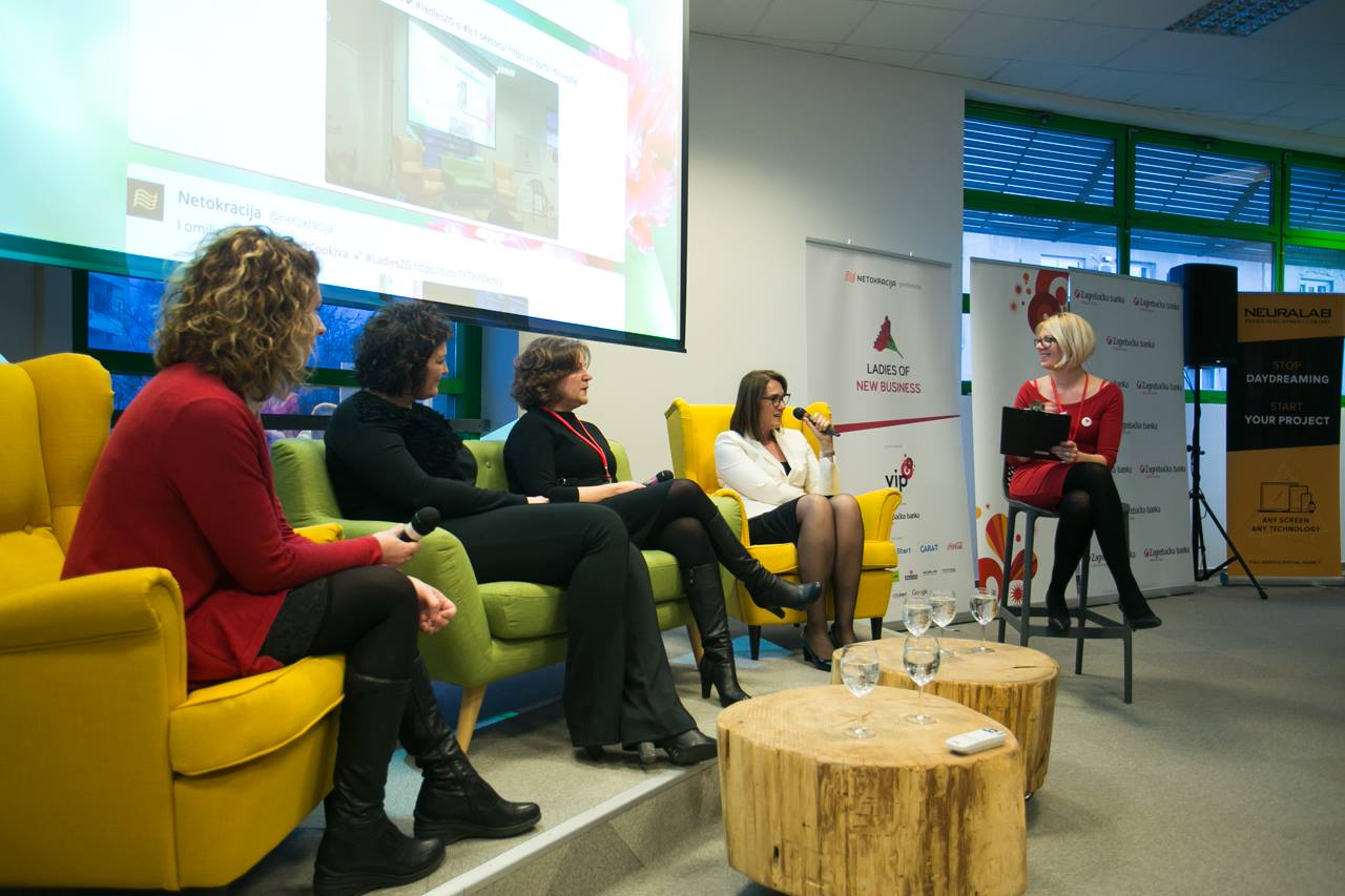 Ana je, među ostalim, suorganizirala konferenciju Ladies of New Business, posvećenu ženama u digitalnom poslovanju (slika: Luka Travaš)