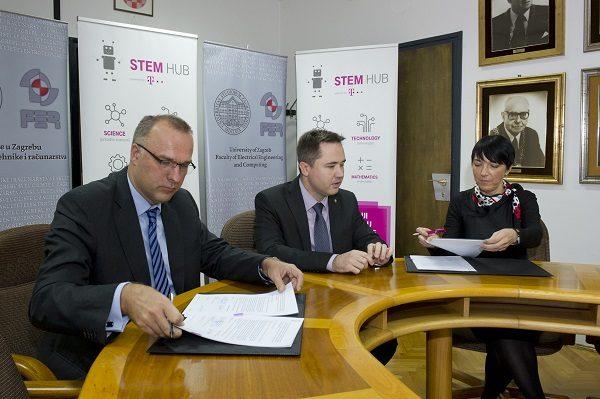 Novim ugovorom HT i FER nastavljaju već dugogodišnju suradnju, a cilj je potaknuti razmjenu znanja u STEM području.