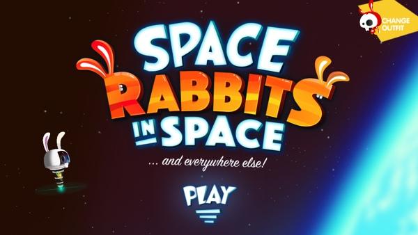 Ventilatorova prva igra je Space Rabbits in Space!