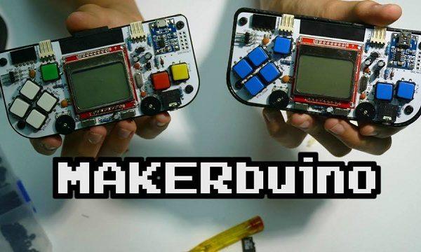 """MAKERbuino je """"uradi sam"""" set za sastavljanje igraće konzole."""