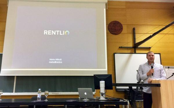 Marko Mišulić predstavio je Rentlio kao primjer tehnološke tvrtke koja je posluje iz Zadra - uspješno, posebice prema mjerilima osnivača i zaposlenika.