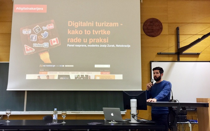 Josip Zurak vodio je raspravu posvećenu digitalnom aspektu turizma, kao važne grane za Zadar, ali i cijelu Hrvatsku.