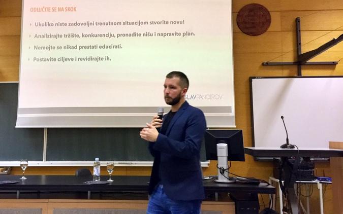 """Tomislav Pancirov objasnio je zašto je brendiranje važno te zašto je odlučio napustiti """"tradicionalno"""" poslovanje i postao digitalni nomad - ima slobodu upravljanja vremenom i mjestom rada."""