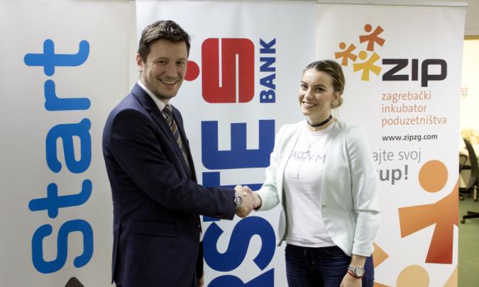 Antonija je u sklopu 10. Progress Reviewa osvojila 1000 eura za najveći napredak u prvoj polovini startup inkubatorskog programa.