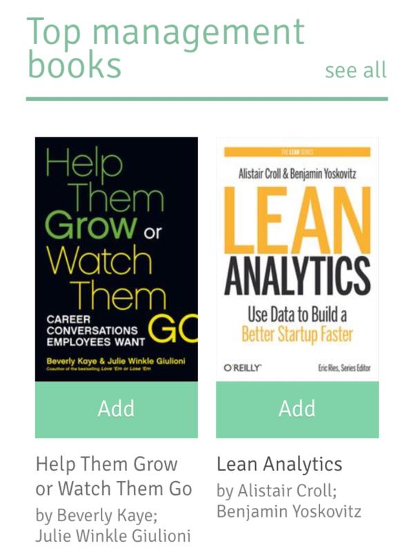 I za publiku koju zanima razvoj poslovanja izbor knjiga je poprilično dobar.