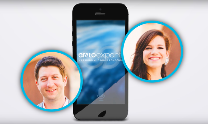 Eduard i Nevena razvijaju platformu koja omogućuje implementaciju prirodnog jezika u mobilne aplikacije i chatbotove - na hrvatskom.