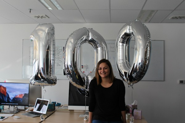 100. zaposlenik Nanobita bila je zaposlenica, a ova tvrtka ima oko 35% žena, iako im je cilj uvijek zaposliti najboljeg kandidata, a ne ženu ili muškarca.