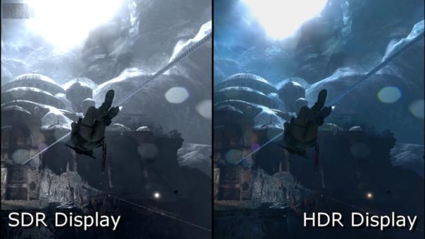 SDR HDR DIsplay