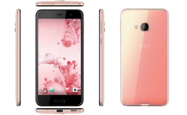 HTC U Play u 'cosmetic pink' boji.