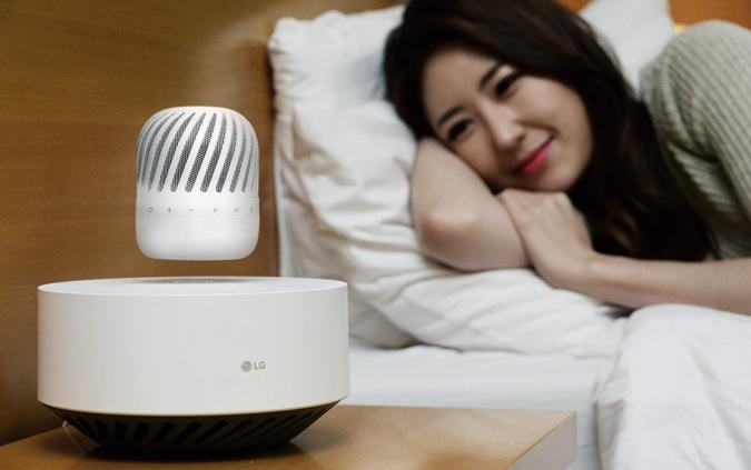 LG će predstaviti svoj lebdeći zvučnik.