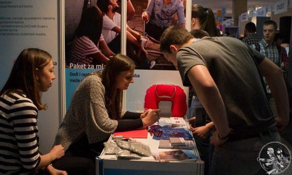 Job Fair na FER-u je dobra prilika za druženje i upoznavanje potencijalnih poslodavaca i suradnika.