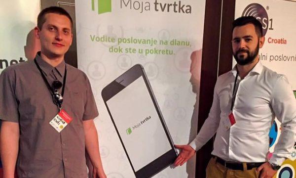 Iza aplikacije stoje direktor Mladen Ardalić (desno) i voditelj marketinga i web stranica Korab Emši (lijevo).