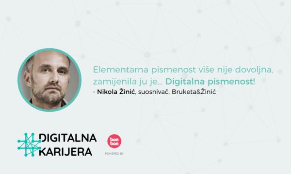 Digitalna Karijera - Nikola Žinić