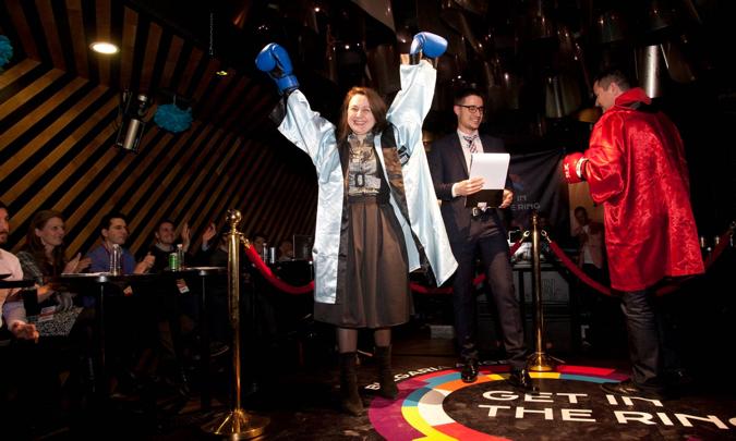 Get in the Ring jedinstveno je natjecanje koje se po prvi puta organizira u Hrvatskoj, ističu Sven Špehar (HUB385) i Tihana Marelja (ZIP).
