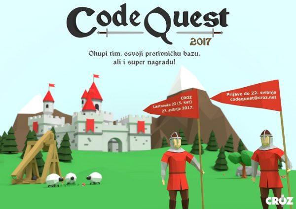 CROZ Code Quest je natjecanje u programiranju, a ove je godine tema - srednji vijek.