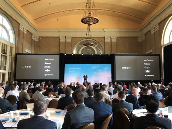 Strateško partnerstvo Ubera i niza tvrtki koje proizvode VTOL vozila najavljen je na konferenciji Elevate u Dallasu.