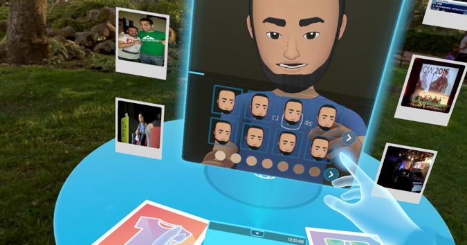 Prvi korak - izradite vlastiti avatar koji ćete koristiti u virtualnom svijetu.