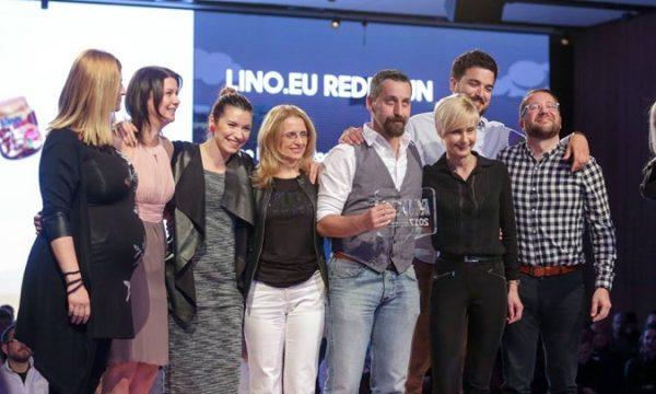 web.burza i Lino brand (Podravka) su dobitnici nagrade Mixx u kategoriji najbolje web stranice.